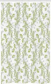 abakuhaus duschvorhang badezimmer deko set aus stoff mit haken breite 120 cm höhe 180 cm paisley alte blatt strudel blumen kaufen otto