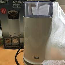 Braun Coffee Grinder Home Appliances On Carousell