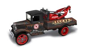 100 Hawkeye Truck Equipment Texaco 1931 Tow Case Pack Of 12 134 Scale