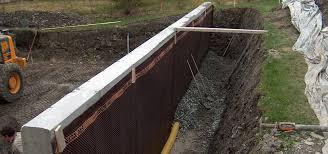 murs enterrés et drainage extérieur sprl christophe adam