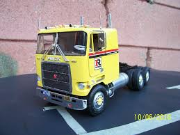 Mack Cruiseliner 1/25 Scale Model Truck. Made From AMT Kit. | Model ...