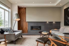 100 Contemporary Interior Design With Extensive Walnut Millwork
