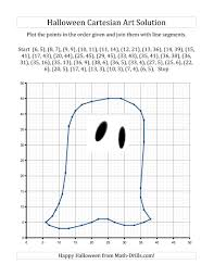 Halloween Multiplication Worksheets Grade 4 by New For Halloween 2013 Cartesian Art Halloween Ghost New Math
