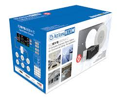 Picture Of Complete Business Music Paging System For Ceiling Tile Applications