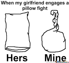 Pillow Fight by paracetamol Meme Center