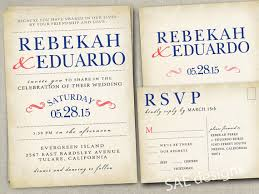 Wedding Invitation Invitations Invite Invites Announcement Announcements RSVP Cards Postcards Rustic Country Barn Grey Coral And Navy