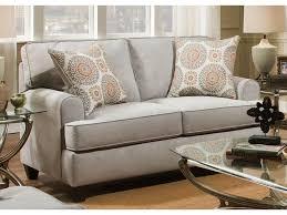 American Furniture Popstitch Dove 1952 2021 Loveseat