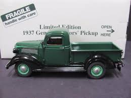 Limited Ed. Danbury Mint 1937 General Motors GMC Pickup Truck, Green ...