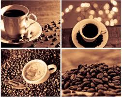 Coffee Photography Set Of 4 Photo Prints Digital Download Wall Art Kitchen Decor