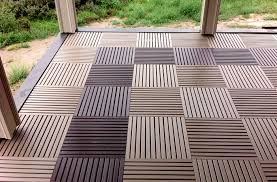 terrace designer deck outdoor tiles wood recycled plastic