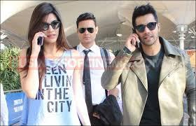 Dilwale Duo Kriti Sanon And Varun Dhawan ed At Their Stylish