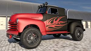 100 Chevy Truck 4x4 1951 Chevrolet Pickup By SamCurry On DeviantArt