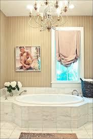 bathroom awesome fancy bathroom lights chandelier above tub
