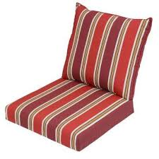 Home Depot Deep Patio Cushions by Deep Seating Outdoor Chair Cushions Outdoor Cushions The