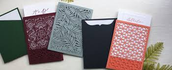 Invitation Sleeves | Cards & Pockets