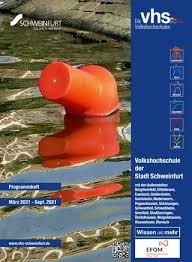 vhs schweinfurt programmheft herbst winter 2020 2021 by
