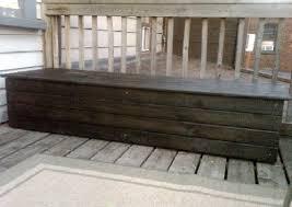 wooden outdoor storage bench u2013 doors
