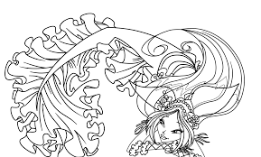 Incredible Winx Club Mermaid Coloring Pages With Fairy And