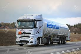 SALO, FINLAND - APRIL 13, 2017: Mercedes-Benz Actros Semi Tank ... Semi Trucks Natural Gas Electric Heavyduty Available Models Fuel Efficient Heavy Travels Lng Eesti Gaas Compressed Natural Gas Trucks In The General Mills Fleet A Taste Our Nations Soon To Be Running On Liquefied Hidrolik Pgendalian Transportasi Trailer Untuk Alam Cair Best Truck Manufacturer Battle Freightliner Vs Kenworth Volvo Ups Ordering 400 Cng From Medium Alternative Fuels Data Center How Do Vehicles Work Basics 101 What Contractors Need Know About And