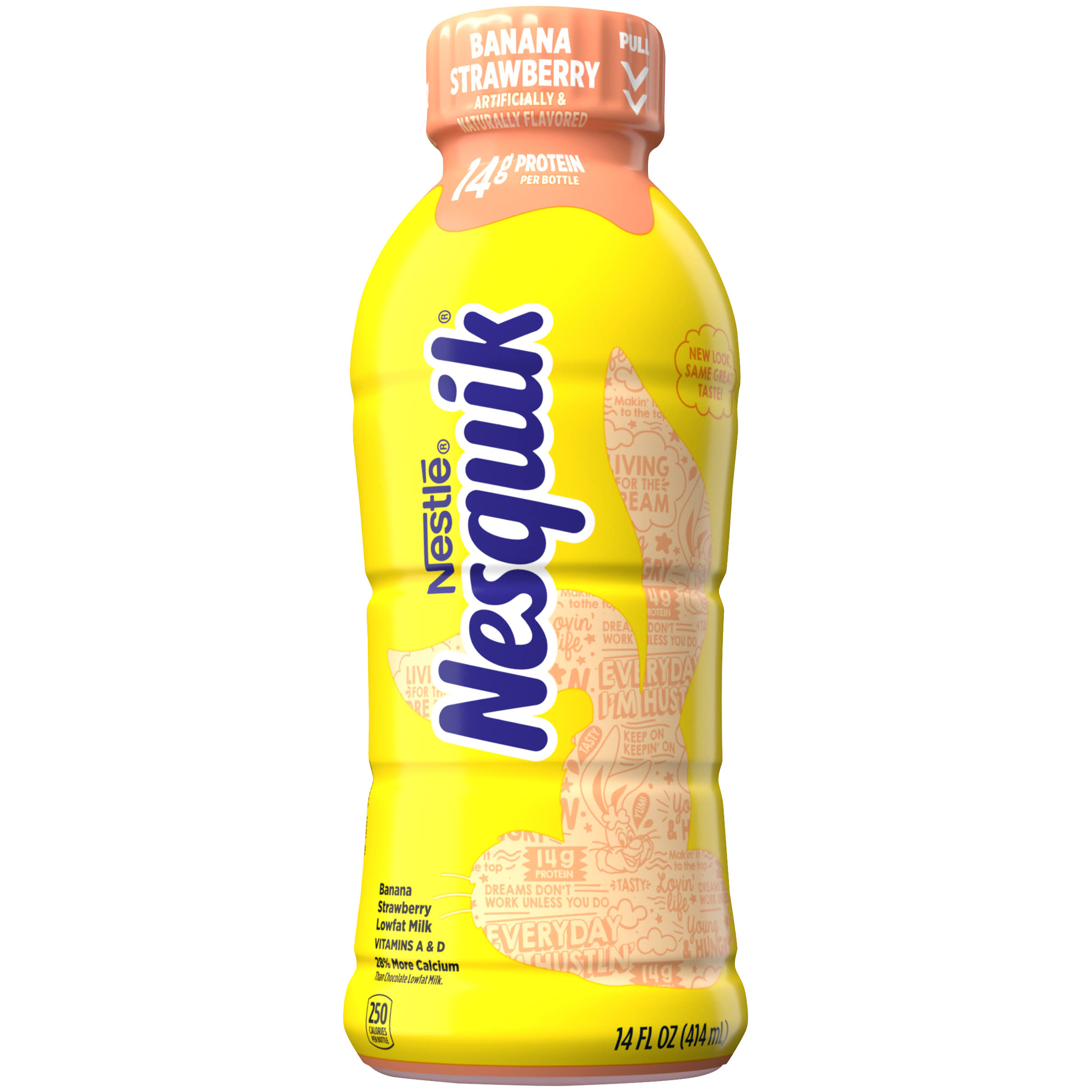 Nestle Nesquik Drink - Banana Strawberry Milk