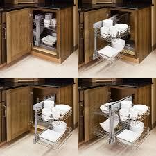 Blind Corner Base Cabinet For Sink by Blind Corner Cabinet Pull Out Unit Roselawnlutheran