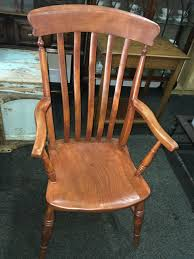 Lovely Vintage Wooden Farmhouse Tall Spindle Back/High Back Grandad  Fireside Carver Chair | In Edinburgh City Centre, Edinburgh | Gumtree Windsor Arrow Back Country Style Rocking Chair Antique Gustav Stickley Spindled F368 Mid 19th Century Spindle Eskdale Chairs Susan Stuart David Jones Northeast Auctions 818 Lot 783 Est 23000 Sold 2280 Rare Set Of 10 Ljg High Chairs W903 Best Home Furnishings Jive C8207 Gliding Rocker Cushion Set For Ercol Model 315 Seat Base And Calabash Wood No 467srta Birchard Hayes Company Inc
