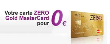 carte zéro ce qu il faut savoir sur cette gold mastercard gratuite