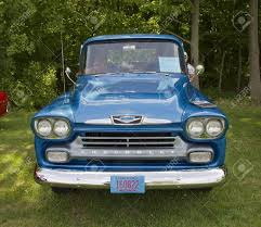 COMBINED LOCKS, WI - AUGUST 18: Front View Of A Blue 1958 Chevy ... 1958 Chevrolet Apache For Sale On Classiccarscom Chevy Pickup Truck Editorial Stock Image Of V8 31 Pick Up Wow Barn Find Rare 4x4 Napco Youtube Autolirate A Pair Trucks Sema 2017 Simplebuilt Farm Truck Flickr Karepmu Opo Se File1958 4wd Pickup Napcojpg Wikimedia