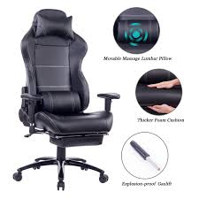 100 Heavy Duty Office Chairs With Removable Arms Amazoncom Blue Whale Gaming Chair With Footrest And Massage Lumbar