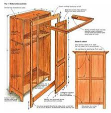 Sewing Cabinet Woodworking Plans by 208 Best Woodworking Plans Images On Pinterest Wood Furniture