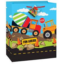 100 Tonka Truck Birthday Party Supplies Construction Gift Bag Construction