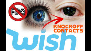 Cheap Fda Approved Halloween Contacts by Contact Lenses From Wish Good Or Bad Youtube