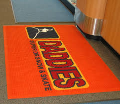 Waterhog Floor Mats Canada by Floor Floor Mats With Logo Creative On Floor Custom Logo Mat Gurus