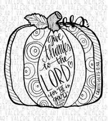 Thanksgiving Coloring Page Doodle