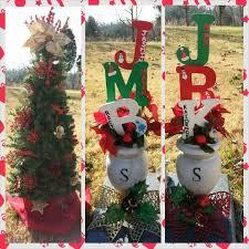 Grave Side Christmas Decor