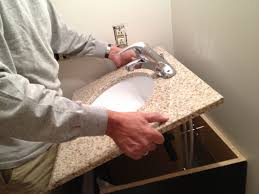 Cabinet Filler Strip Install by How To Replace And Install A Bathroom Vanity