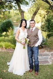 Wedding Dress Rustic Bride Groom