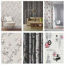 Ebay Christmas Trees Australia by Grey Wallpaper Patterned Stars Floral Feathers Trees Marble