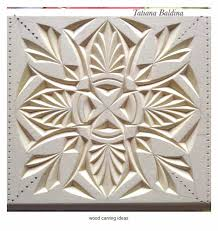 chip wood carving pattern for beginner example wood carving