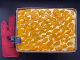 pfirsich schmand kuchen anni mit pered chef