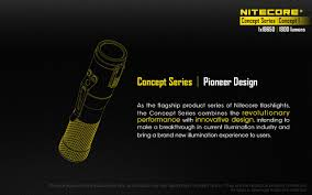 New Product Announcement - Nitecore Concept 1 C1 1800 Lumen ...