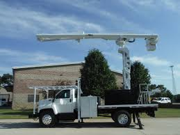 100 Forestry Truck For Sale 2006 GMC C7500 14 FT FLATBED 75 FT WORK HEIGHT ALTEC LRV6070 REAR