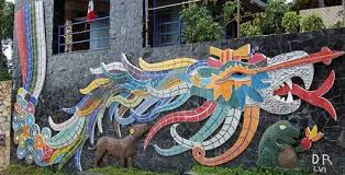 acapulco home with extraordinary rivera mosaic murals and his last