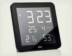 Braun Digital Wall Clock