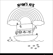 New Coloring Page Noah Was Faithful Colouring Pages Noahs Ark Building