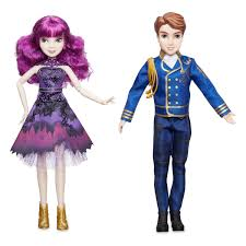 Mal And Ben Royal Cotillion Couple Doll Set Descendants 2 ShopDisney
