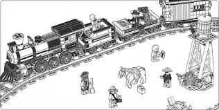 Image Coloring Lego Train Pages With Eassume