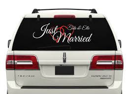 Custom Just Married - Car Window Decal | Pinterest | Car Window ... Product Anime Dragonball Dragonballz Goku Supersaiyan 4 Rear Car Decal Window Sticker Graduation Gift Just Married Window Decal 3 Personalized With Two Hearts 9 Best Hunting Decals For Trucks Images On Pinterest Vinyl Lovely Custom Canada Northstarpilatescom Auto Transparent Wall Elrado Windshield Banner Vehicle Graphics Allen Signs Customer Photo Stencils T Amazoncom Sassenach