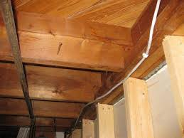 Sistering Floor Joists To Increase Span by Potential Deflection Issue Notched Joists Doityourself Com