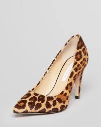 von furstenberg pointed toe pumps anette leopard high heel